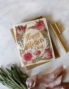 Folk 'Mother's Day' Card