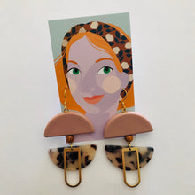 Load image into Gallery viewer, Helm Earrings Pink