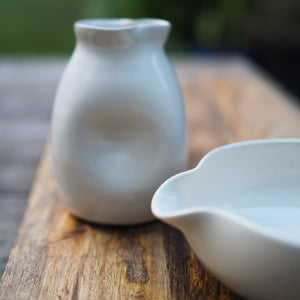 Ceramic Milk Jug White