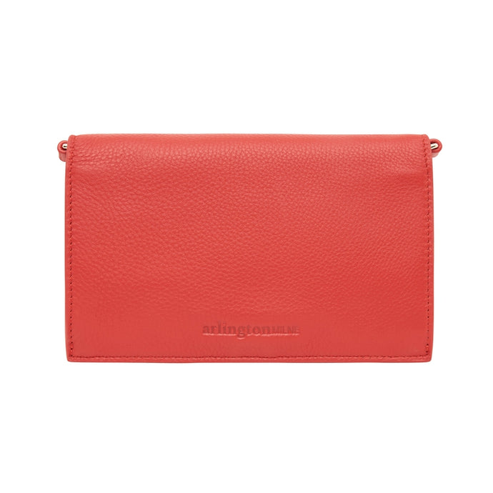 Jasmine Wallet Cherry Pebble