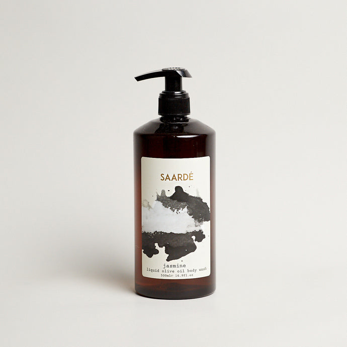 Liquid Olive Oil Body Wash Soap - Jasmine