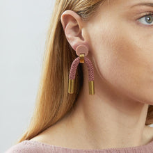 Load image into Gallery viewer, Iris Earrings - Blush