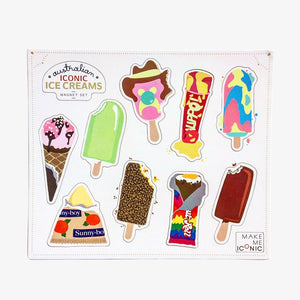 Iconic Magnets - Ice Creams
