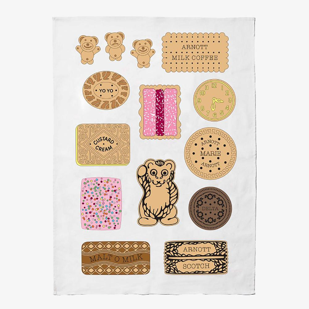 Iconic Tea Towel - Bickies