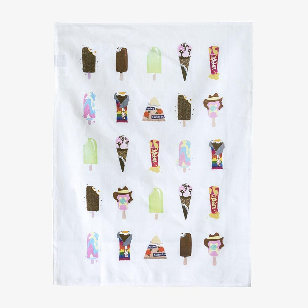 Iconic Tea Towel - Melt