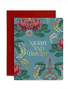 'Merry & Bright' Card