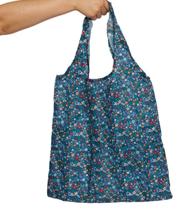 Tiny Floral Fold Up Shopper