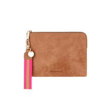 Load image into Gallery viewer, Paige Clutch Vintage Tan