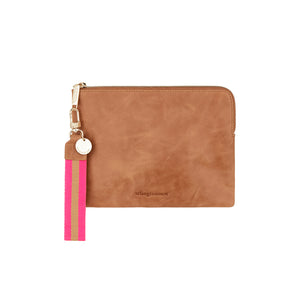 Paige Clutch Vintage Tan
