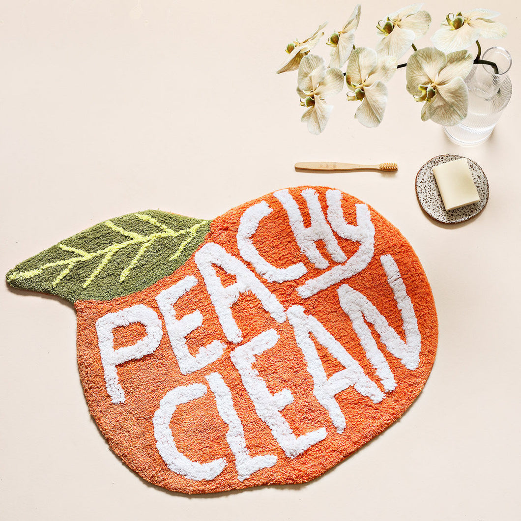 Peachy Clean - Bath Mat