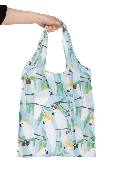 Cockatoo Fold Up Pocket Shopper