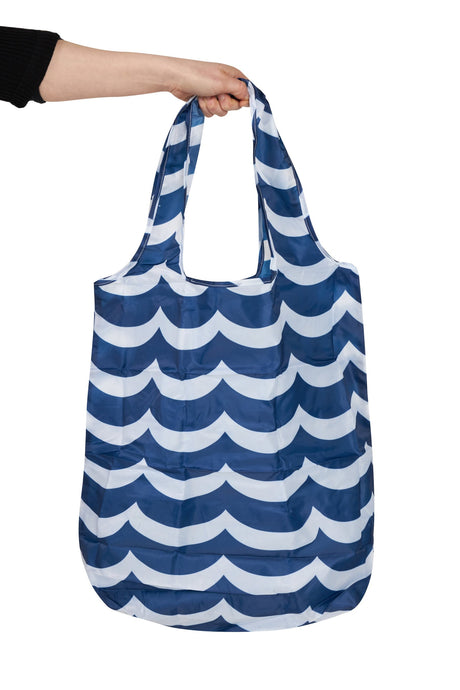 Waves Large Pocket Shopper