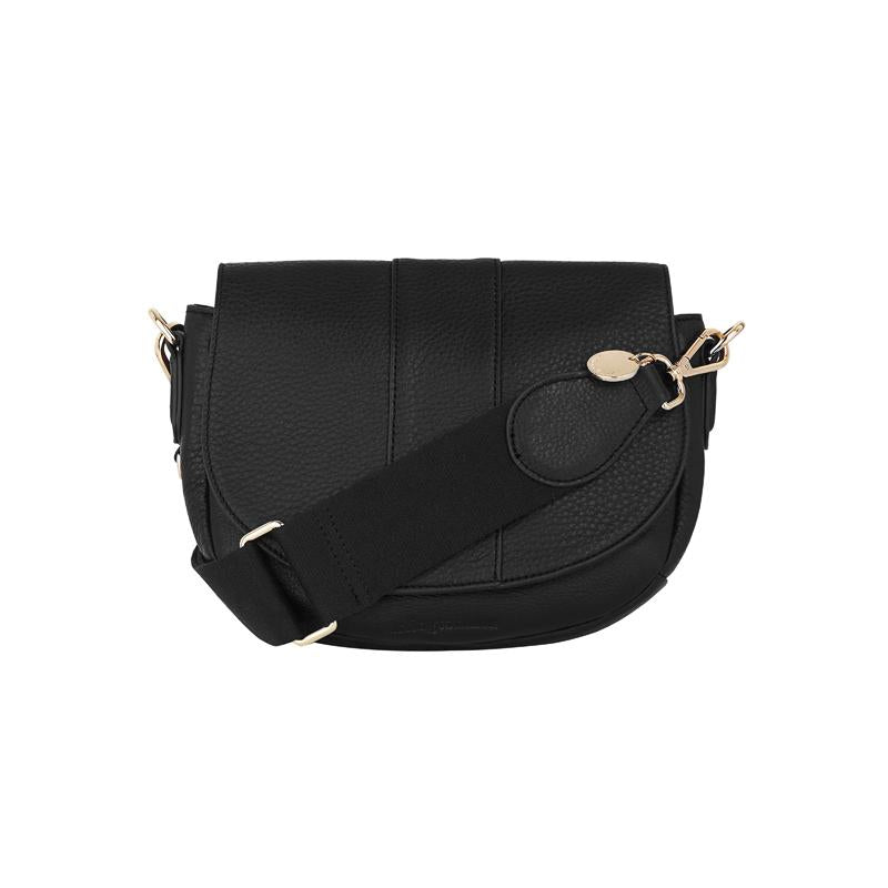 Zara Saddle Bag Black