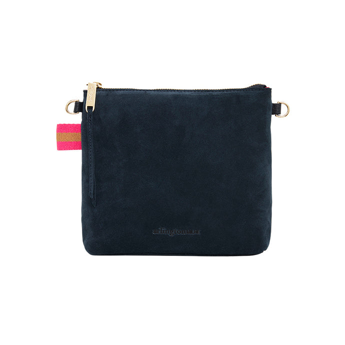 Alexis Crossbody Navy Suede