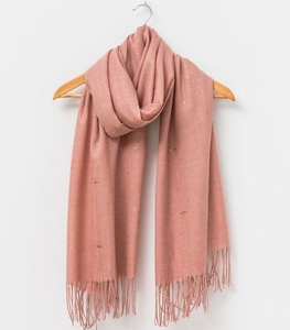 Blush Birds Scarf