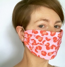 Load image into Gallery viewer, The Pink Ocelot Face Mask
