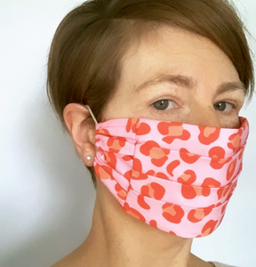 The Pink Ocelot Face Mask