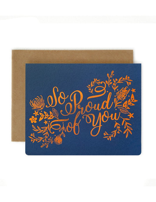 'So proud of you' Card