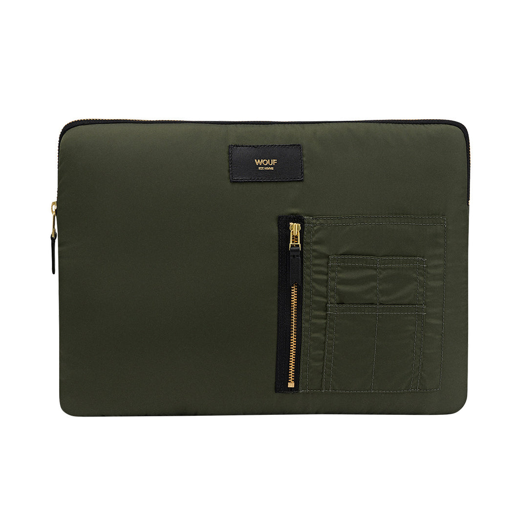 Camo Bomber Laptop Case