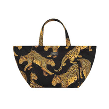 Load image into Gallery viewer, Black Leopard XL Tote