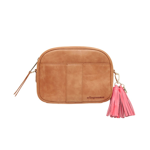 Zara Camera Bag Vintage Tan
