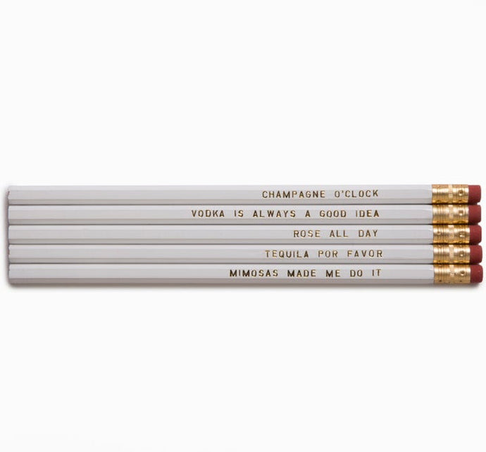 Pencil Set - Beverage