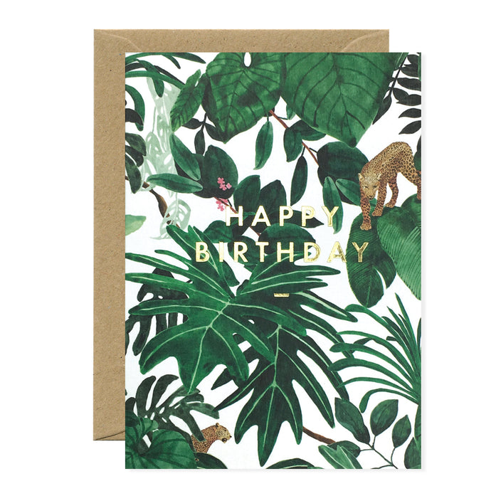 Birthday Jungle Card