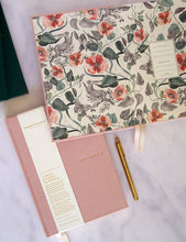 Load image into Gallery viewer, Linen Bound Journal Blush