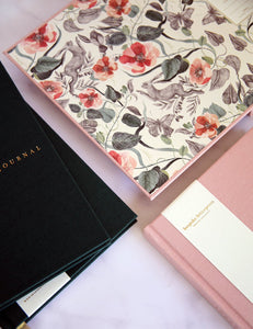 Linen Bound Journal Blush
