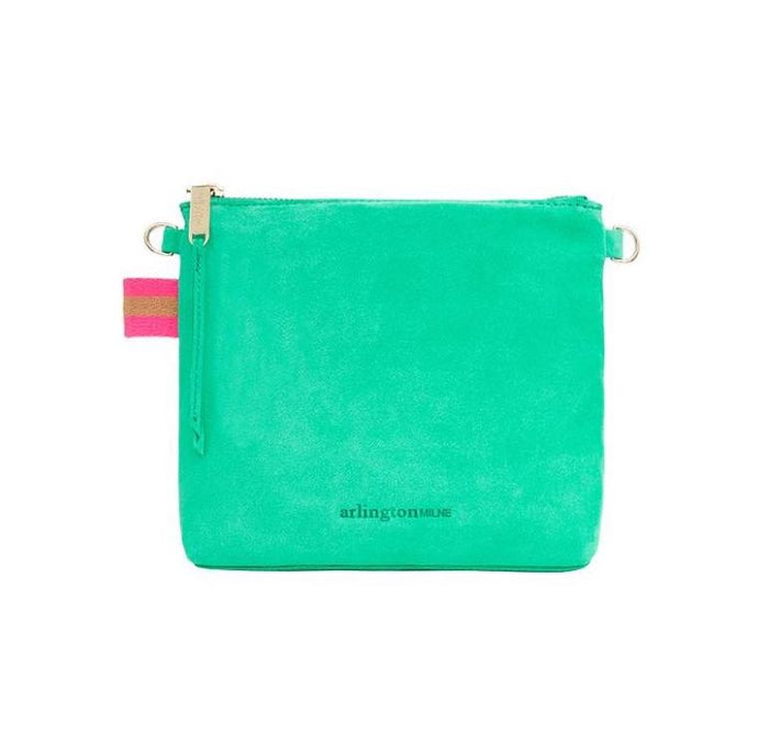 Alexis Crossbody Emerald Suede