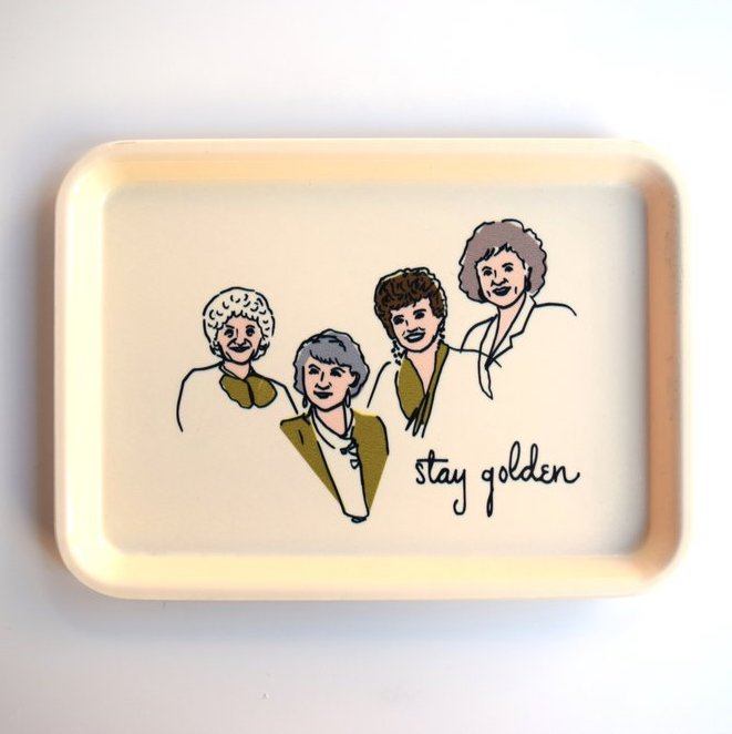 Golden Girls Tray