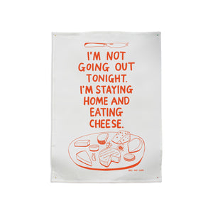 Not Going Out Tea Towel