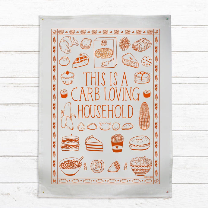 Carb Loving Tea Towel