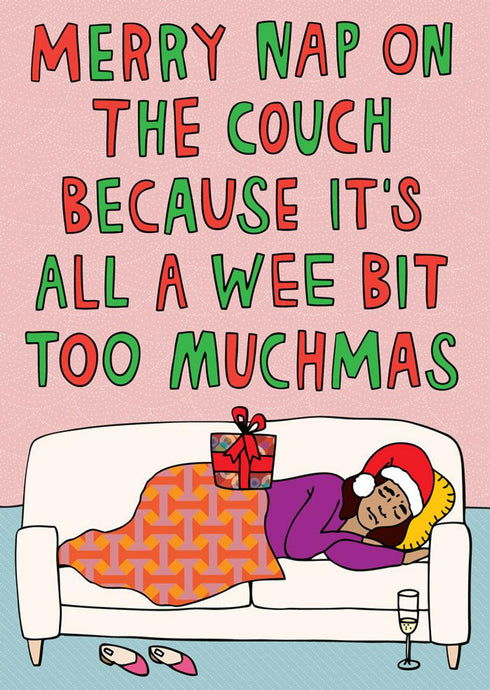 Christmas Nap Card