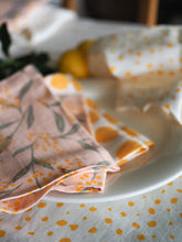 Load image into Gallery viewer, Yellow Polka Dot Napkins