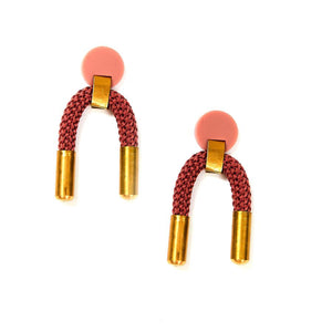 Iris Earrings - Blush