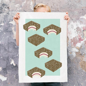 Iconic Tea Towel - Lamington