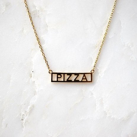 Necklace - Pizza
