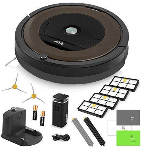 iRobot Roomba 890 Robotic Vacuum Cleaner Wi-Fi Connectivity + Manufacturer's Warranty
