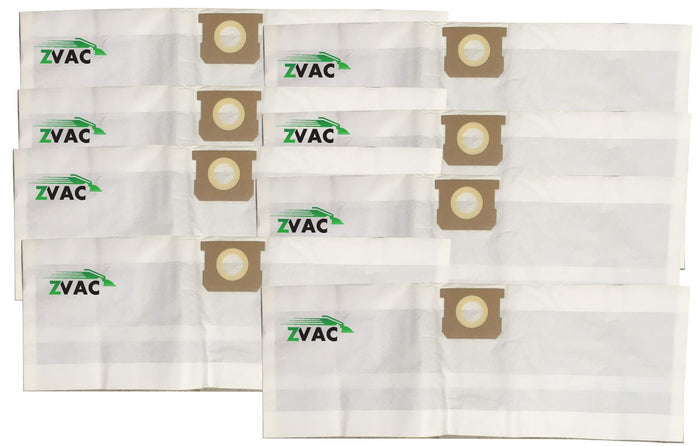 ZVac 8 Pack Compatible Shop Vac Bags 5-8 Gallon Replacement Bags Type H & Type E Shop-Vac Bags. Compare These Generic Bags to OEM 9067100 + 90671