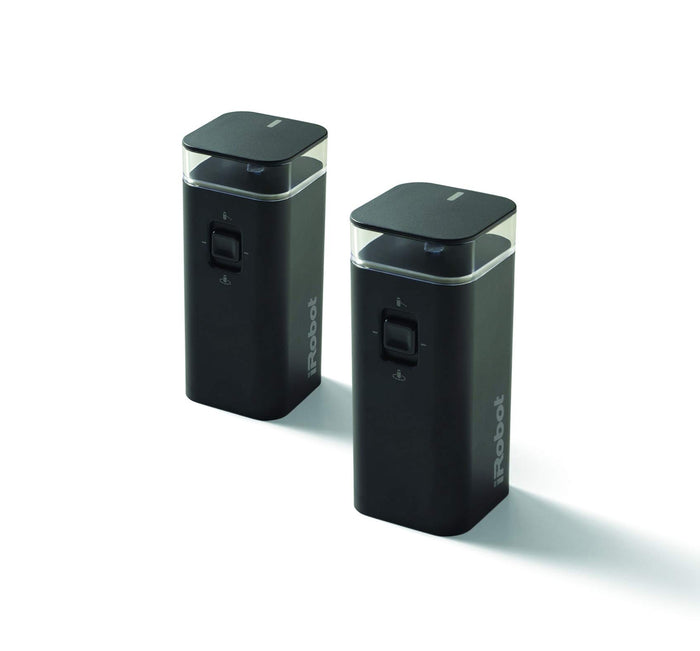 iRobot Dual Mode Virtual Wall Barrier, 2-Pack Accessories Black