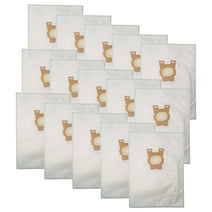 ZVac 15Pk Compatible Cloth Vacuum Bags Replacement for Kirby Vacuum Bags Style F. Fits Kirby Sentria Series