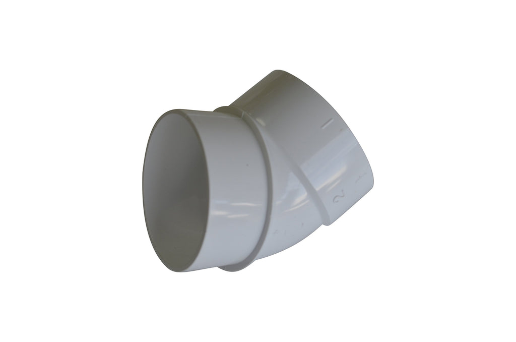 Central Vacuum Cleaner 45 Degree Spigot Fitting for All Central Vacuum Systems Including: Aggresor Airvac AstroVac Beam Cana-Vac Cirrus Drainvac