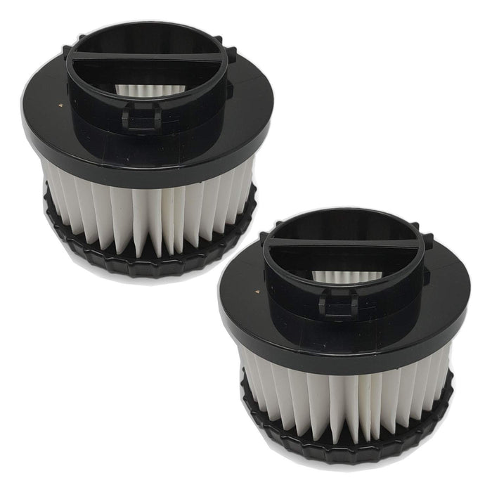 ZVac 2Pk Compatible Filters Replacement for Dirt Devil F9 HEPA Filter. Replaces Parts: 3DJ0360000, F-9. Fits: Dirt Devil Classic Hand Vacuum M0105