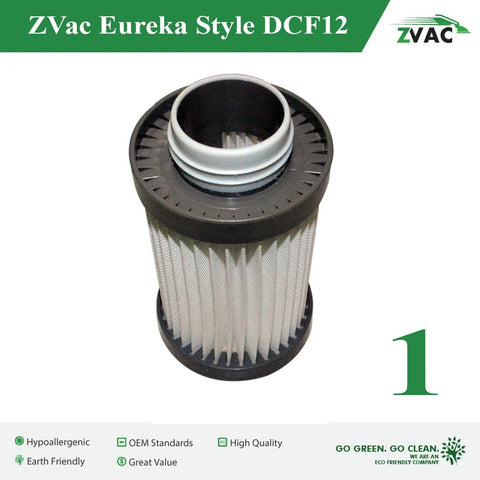 ZVac Generic HEPA Filter for Eureka DCF-12