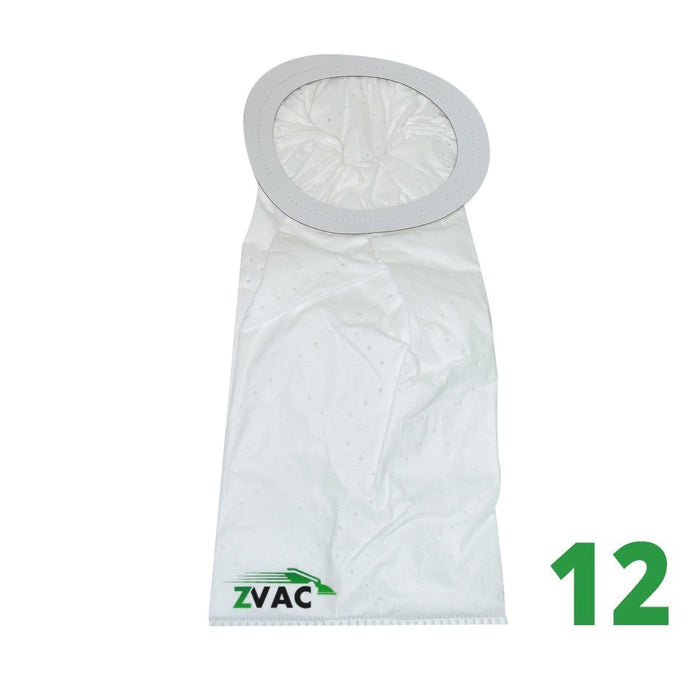 ZVac 10Qt Vacuum Bags for Proteam Backpack Vacuums (Pack of 12)