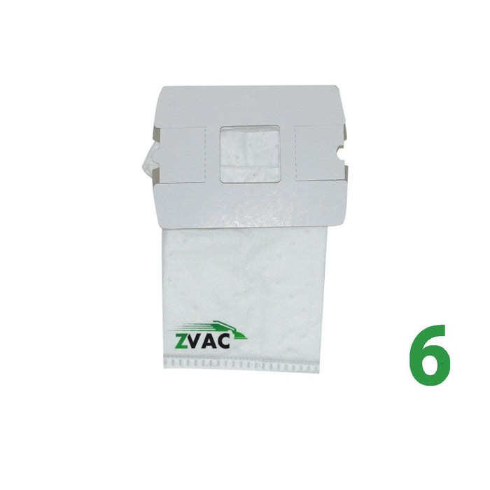ZVac Replacement Compatible 6 Premium Oreck Buster B Bags (6, ORK BB)