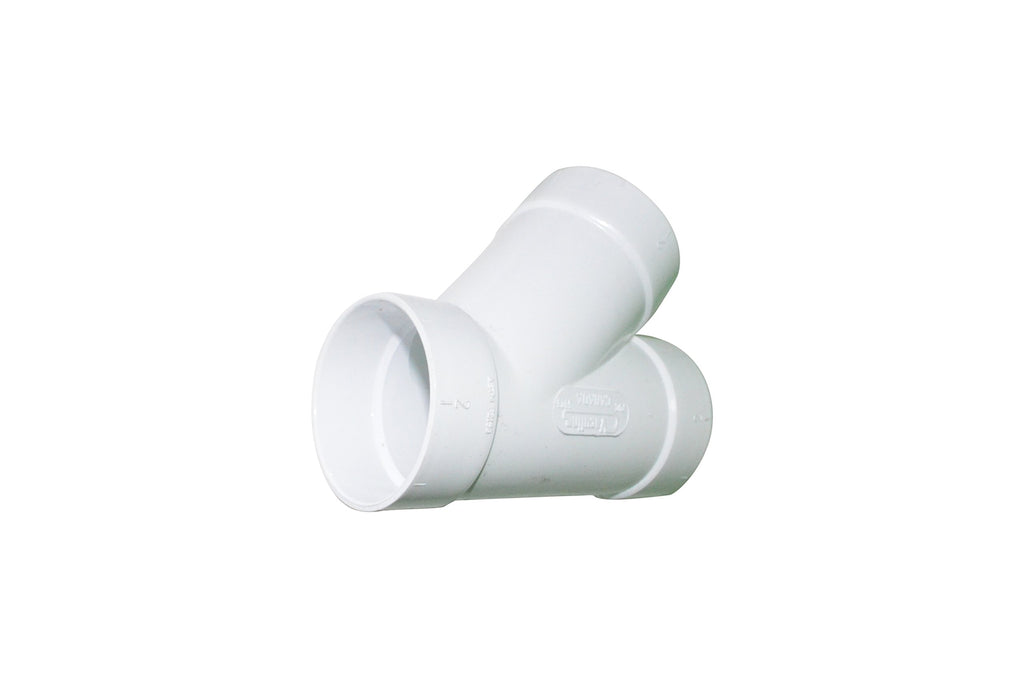ZVac 10 Central Vacuum Cleaner Fittings for All Central Vacuum Systems Including: PowerStar Pullman Riccar Vacuflo Vacumaid Valet WalVac (10, Sweep Y WYE 3 Way Connector)