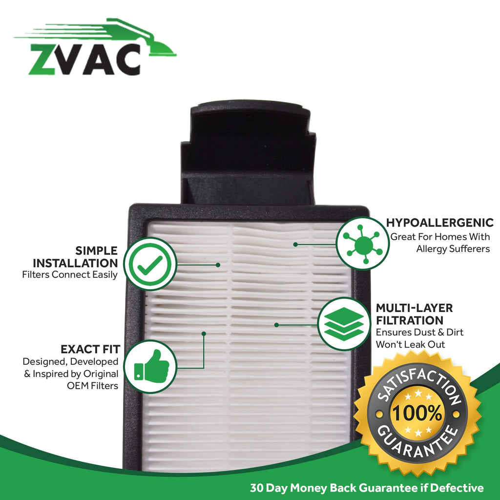 ZVac Generic Replacement Compatible Eureka HF5 Filter