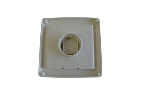 Central Vacuum Large Exhaust Vent Port for All Central Vacuum Systems Including: Aggresor Airvac AstroVac Beam Cana-Vac Cirrus Drainvac DuoVac Dustcare by ZVac (1, Large Exhaust Vent)